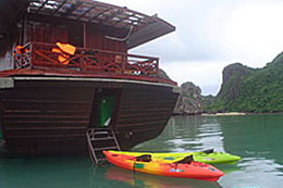 An Nam junk in Halong Bay
