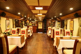 Classic Sail's dining room