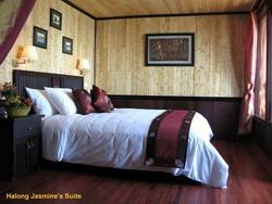 Jasmine Cruise's suite