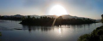 Tourists are enjoying Saigon - Phnom Penh upriver - TL513