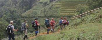 Tourists are enjoying Sapa trekking to local villages - TL216