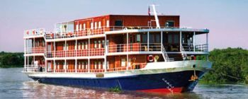 Tourists are enjoying Phnom Penh - Siem Reap with Toum Tiou Cruise - TL604
