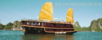 Tourists are enjoying Halong Bay and Phoenix Cruiser - TL105
