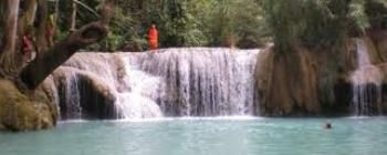 Tourists are enjoying Trans-Laos 10 day tour - TL907