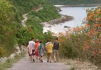 TOURISTS IN 1-day Cham Island Tour