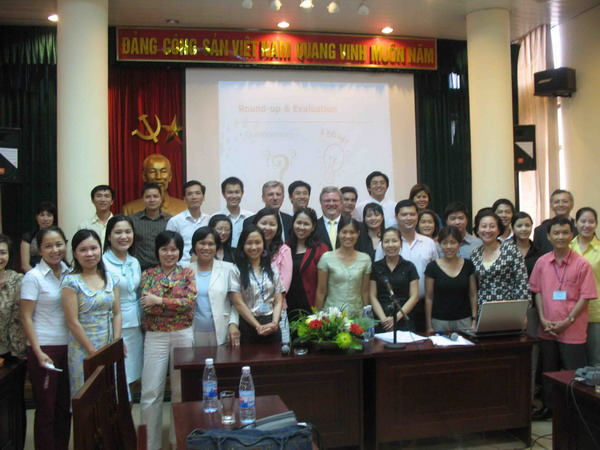 CBI tourism training course, 2009, Hanoi, Vietnam