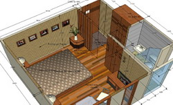 Halong Emotion Cruise's accommodation