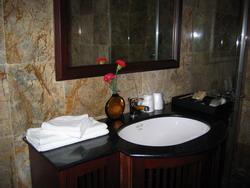 Washing room in Indochina Sails, Halong Bay, Vietnam Tuan Linh Travel