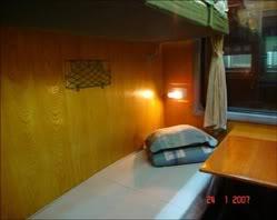 King Express train's tourist cabin