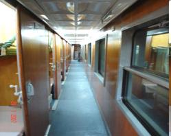 King Express train's sleeping carriage