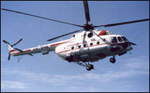 MI-17 Vietnam helicopter