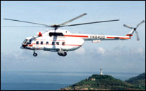 MI-172 Vietnam helicopter