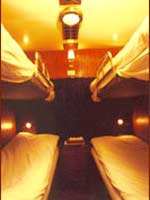 4 soft berth-cabin in Ratraco train