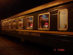 Royal train carriage, express train from Hanoi to Sapa, Lao Cai, Vietnam