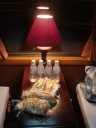 Snack in Royal train, Sapa, Lao Cai, Vietnam