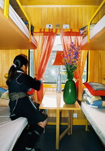 Tulico Sapa train's cabin