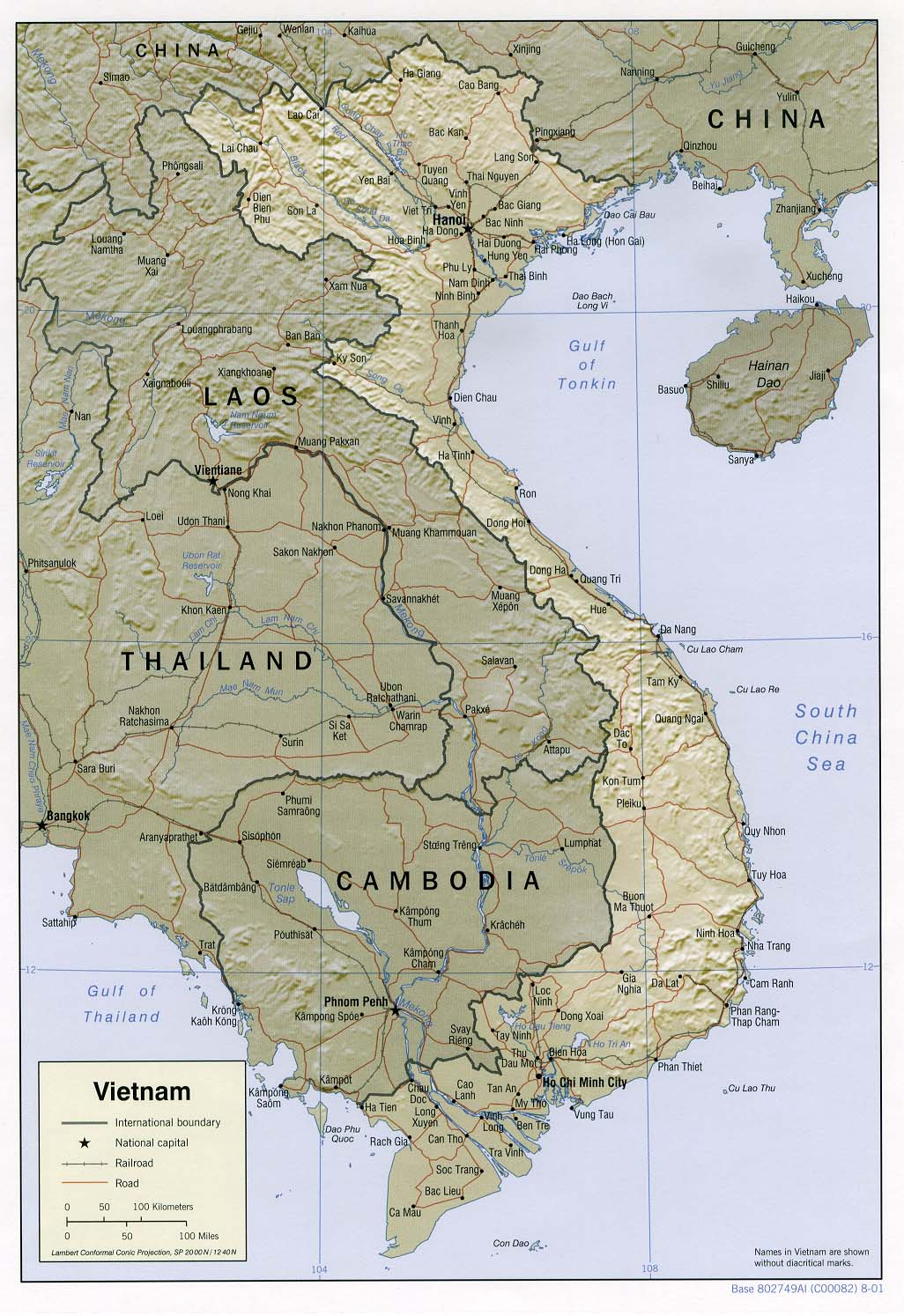 Tourist Attractions in Vietnam information and reservation – Vietnam Tourist Attractions Map